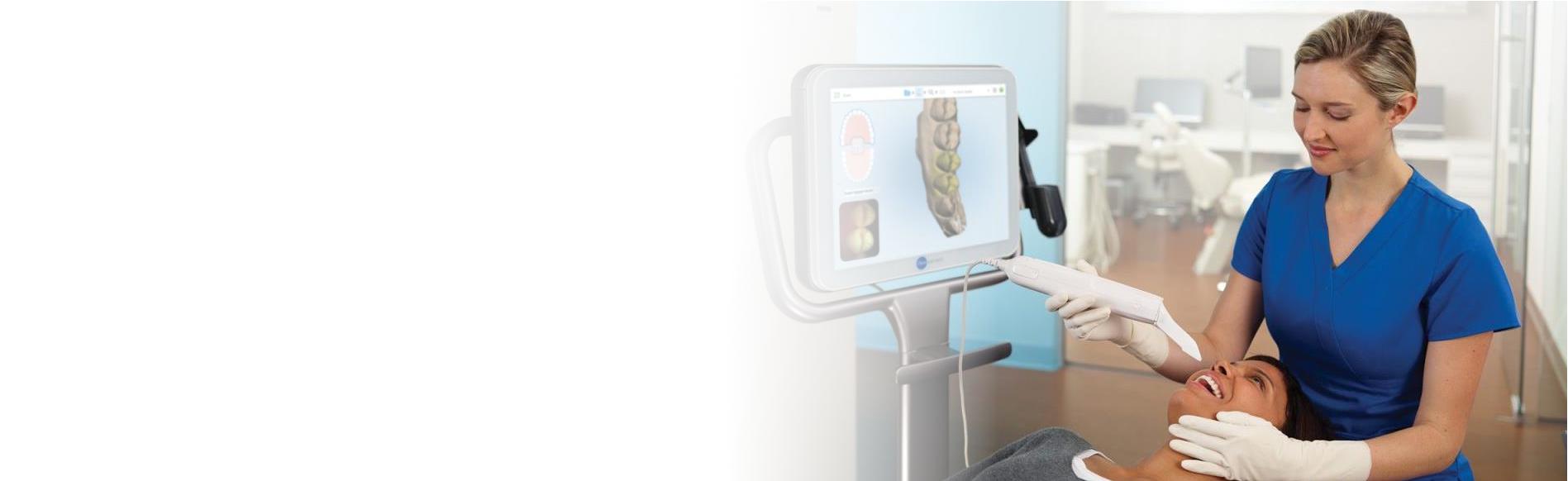 Skaner wewnątrzustny / Intraoral scanner
